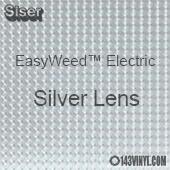 "12"" x 15"" Sheet Siser EasyWeed Electric HTV - Silver Lens"