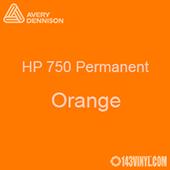 "Avery HP 750 - Orange- 12"" x 24"" Sheet"