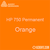"Avery HP 750 - Orange- 12"" x 5 Foot"