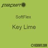 """12"""" x 12"""" Sheet - StarCraft SoftFlex HTV - Key Lime"""