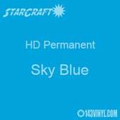 "12"" x 12"" Sheet - StarCraft HD Glossy Permanent Vinyl - Sky Blue"