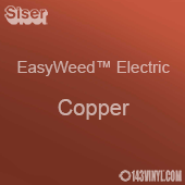 """12"""" x 15"""" Sheet Siser EasyWeed Electric HTV - Copper"""