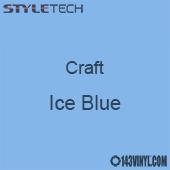 "Styletech Craft Vinyl - Ice Blue- 12"" x 24"" Sheet"