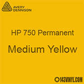 "Avery HP 750 - Medium Yellow- 12"" x 12"" Sheet"