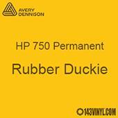"""Avery HP 750 - Rubber Duckie- 12"""" x 24"""" Sheet"""