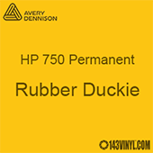 """Avery HP 750 - Rubber Duckie- 12"""" x 12"""" Sheet"""