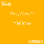 "EasyWeed HTV: 12"" x 15"" - Yellow"