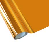 """25 Foot Roll of 12"""" StarCraft Electra Foil - Copper"""