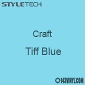 "Styletech Craft Vinyl - Tiff Blue- 12"" x 24"" Sheet"