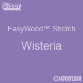 """12"""" x 5 Foot Roll Siser EasyWeed Stretch HTV - Wisteria"""