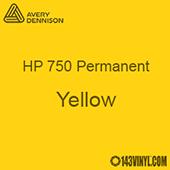 "Avery HP 750 - Yellow- 12"" x 5 Foot"