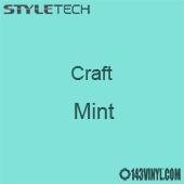 "Styletech Craft Vinyl - Mint- 12"" x 24"" Sheet"