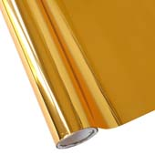 """25 Foot Roll of 12"""" StarCraft Electra Foil - Autumn Gold"""