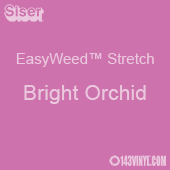 """12"""" x 24"""" Sheet Siser EasyWeed Stretch HTV - Bright Orchid"""