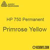 "Avery HP 750 - Primrose Yellow - 12"" x 24"" Sheet"