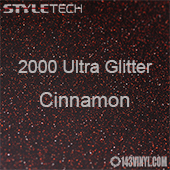 "StyleTech 2000 Ultra Glitter - 145 Cinnamon - 12""x12"" Sheet"