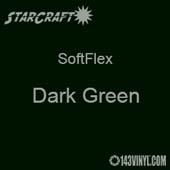 """12"""" x 24"""" Sheet - StarCraft SoftFlex HTV - Dark Green"""
