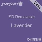 "12"" x 12"" Sheet -StarCraft SD Removable Matte Adhesive - Lavender"