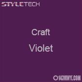 "Styletech Craft Vinyl - Violet- 12"" x 24"" Sheet"