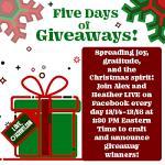 143VINYL Five Days of Giveaways
