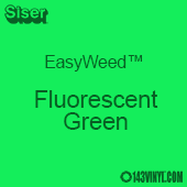 """EasyWeed HTV: 12"""" x 5 Yard - Fluorescent Green"""