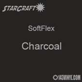 "12"" x 12"" -  SheetStarCraft SoftFlex HTV - Charcoal"