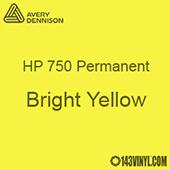 "Avery HP 750 - Bright Yellow- 12"" x 24"" Sheet"
