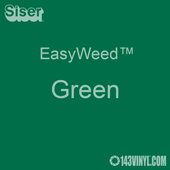 """EasyWeed HTV: 12"""" x 5 Foot - Green"""