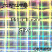 "12"" x 12"" Sheet - StarCraft Magic - Illusion Silver"