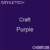 "Styletech Craft Vinyl - Purple- 12"" x 24"" Sheet"