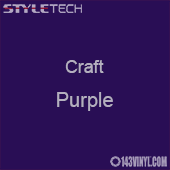 "Styletech Craft Vinyl - Purple- 12"" x 5 Foot"