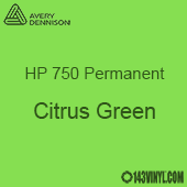 "Avery HP 750 - Citrus Green- 12"" x 12"" Sheet"