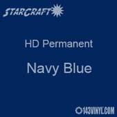 "12"" x 24"" Sheet - StarCraft HD Glossy Permanent Vinyl - Navy Blue"