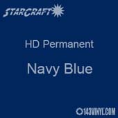 "24"" x 10 Yard Roll - StarCraft HD Glossy Permanent Vinyl - Navy Blue"