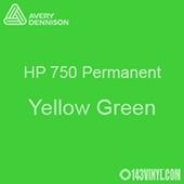 "Avery HP 750 - Yellow Green- 12"" x 5 Foot"