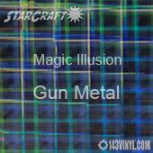 """12"""" x 12"""" Sheet - StarCraft Magic - Illusion Gun Metal"""