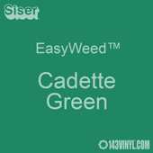 """EasyWeed HTV: 12"""" x 5 Foot - Cadette Green"""