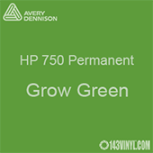 "Avery HP 750 - Grow Green- 12"" x 5 Foot"