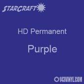 "12"" x 5' Roll - StarCraft HD Glossy Permanent Vinyl - Purple"