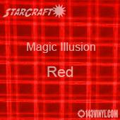 "12"" x 24"" Sheet - StarCraft Magic - Illusion Red"