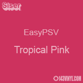 "Siser EasyPSV - Tropical Pink (19) - 12"" x 24"" Sheet"