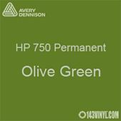 "Avery HP 750 - Olive Green- 12"" x 12"" Sheet"
