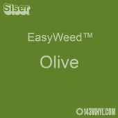 "EasyWeed HTV: 12"" x 5 Foot - Olive"