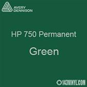 "Avery HP 750 - Green- 12"" x 5 Foot"