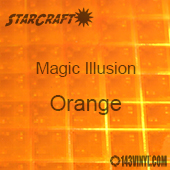 "12"" x 12"" Sheet - StarCraft Magic - Illusion Orange"