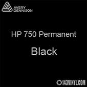 "Avery HP 750 - Black- 12"" x 5 Foot"