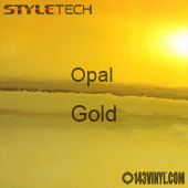 """StyleTech Opal - Gold - 12"""" x 24"""" Sheet"""