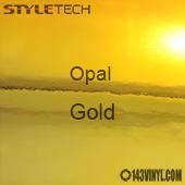 """StyleTech Opal - Gold - 12"""" x 12"""" Sheet"""