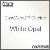 "12"" x 15"" Sheet Siser EasyWeed Electric HTV - White Opal"