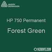 "Avery HP 750 - Forest Green- 12"" x 24"" Sheet"